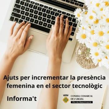 Ajuts per a l'emprenedoria femenina en el sector digital