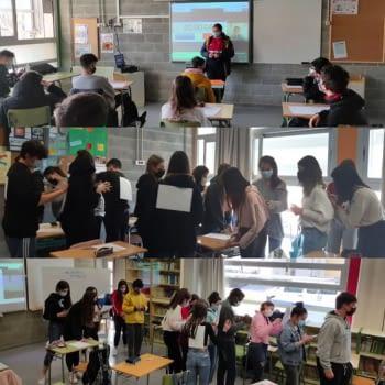 Tallers d'ocupació a l'alumnat de 4t d'ESO a l'Institut Lo Pla d'Urgell de Bellpuig
