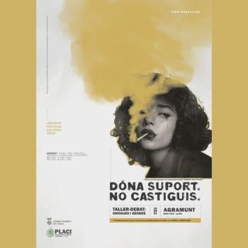 Agramunt acull les primeres activitats de la campanya Support. Dont Punnish