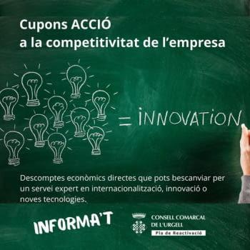 Cupons ACCIÓ a la competitivitat de l'empresa.