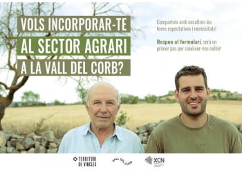 A la Vall del Corb es busquem solucions al relleu agrari!