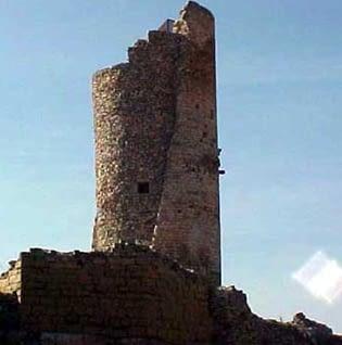 La Torre de guaita del castell de Guimerà