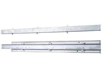Conjunto montado de canal protección cable