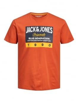 JORTONNI camiseta manga corta con logotipo