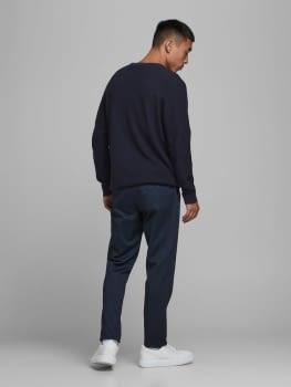 JPRBLAADAM jersey texturizado con cuello redondo - 3