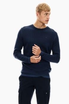 Jersey de punto manga larga