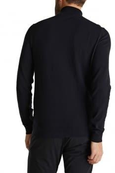 Jersey de cuello vuelto con cachemir - 3