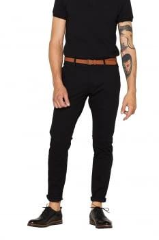 Pantalon chino de algodón elástico - 2