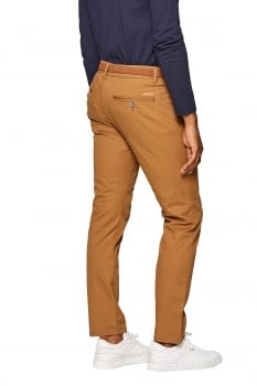 Pantalon chino de algodón elástico - 3