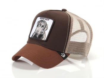 Gorra trucker marrón perro Sweet Chocolate de Goorin Bros