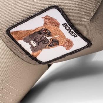 Gorra trucker gris perro bóxer Boxer de Goorin Bros - 2