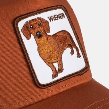 Gorra trucker perro teckel Weiner Dawg de Goorin Bros - 2
