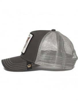 Gorra trucker gris tigre Eye of the Tiger de Goorin Bros - 2