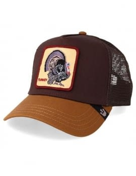 Gorra trucker marrón pavo Wild Turkey de Goorin Bros
