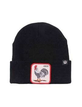 Gorro negro gallo Winter Bird de Goorin Bros