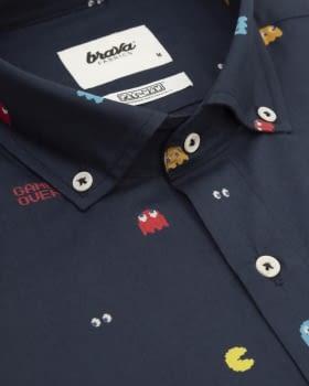 Camisa manga larga Pac Man Navy - 2