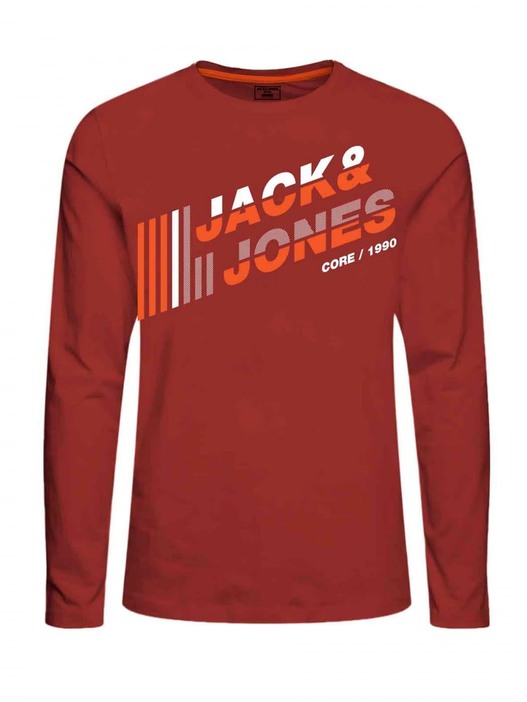 JACK & JONES camiseta manga larga JCOALPHA