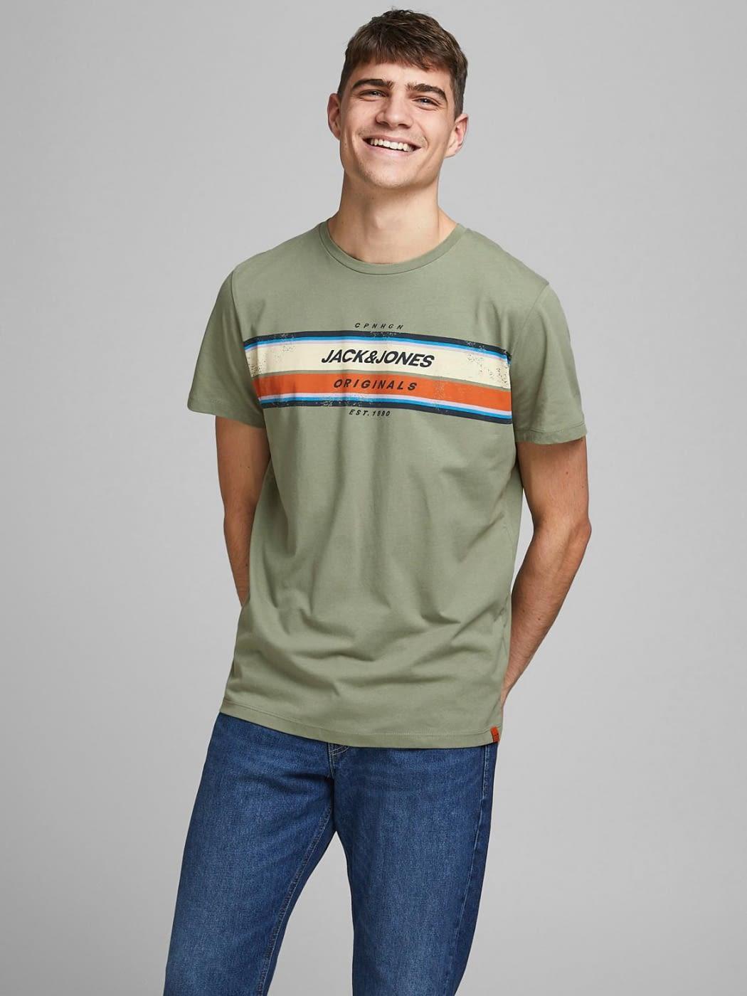 JACK & JONES camiseta manga corta JORTYLER