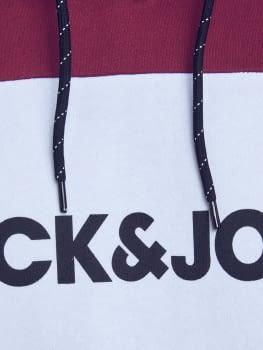 JJELOGO BLOCKING sudadera con capucha con logo estampado - 2