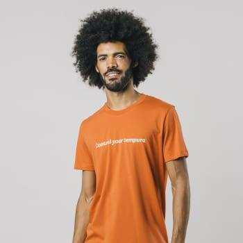 BRAVA camiseta manga corta Control Your Tempura