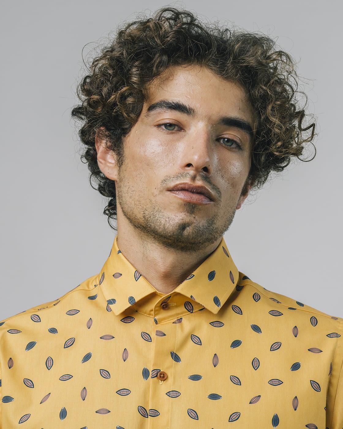 BRAVA camisa manga corta Kakao