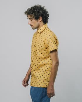 BRAVA camisa manga corta Kakao - 3