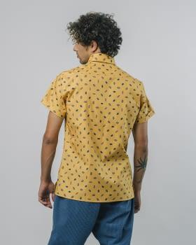 BRAVA camisa manga corta Kakao - 4