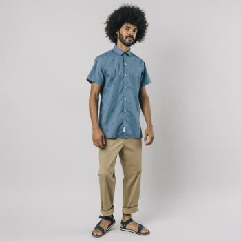 BRAVA camisa manga corta Nigiri Blue - 2