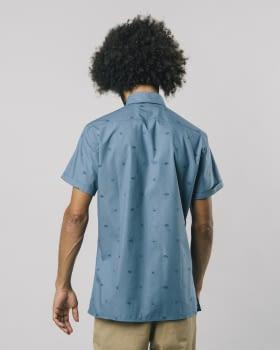 BRAVA camisa manga corta Nigiri Blue - 4