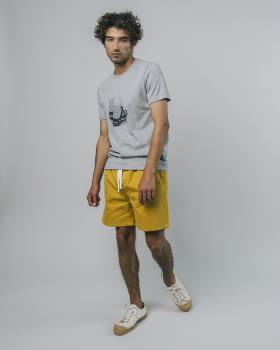 BRAVA camiseta manga corta Socks Appeal Grey - 3
