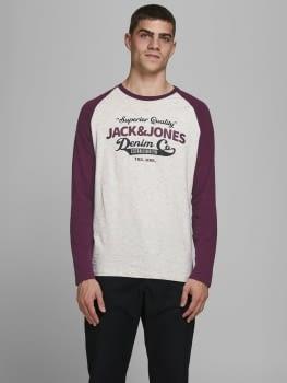 JJERAGLAN LOGO camiseta de manga larga con logo estampado - 2