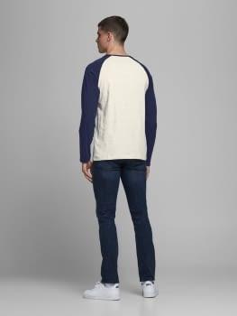 JJERAGLAN LOGO camiseta de manga larga con logo estampado - 3