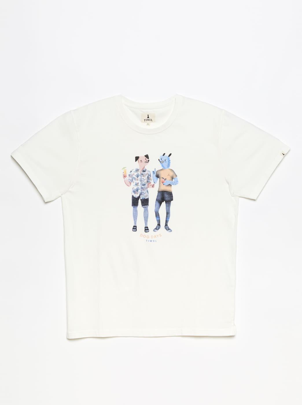 TIWEL camiseta manga corta Dog Days
