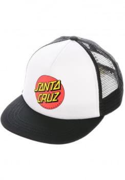 SANTA CRUZ gorra CLASSIC DOT WHITE/BLACK-WHITE/