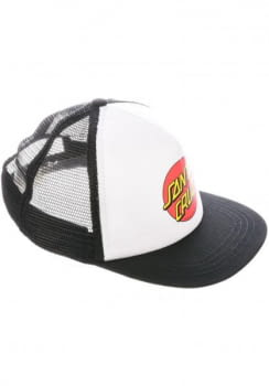 SANTA CRUZ gorra CLASSIC DOT WHITE/BLACK-WHITE/ - 5