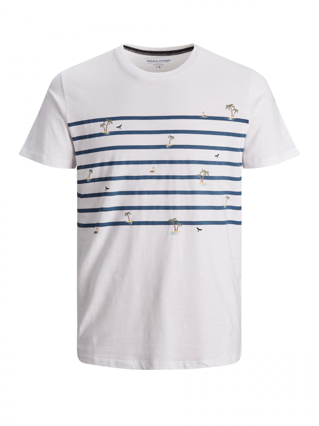 JORPLAYA STRIPE camiseta manga corta
