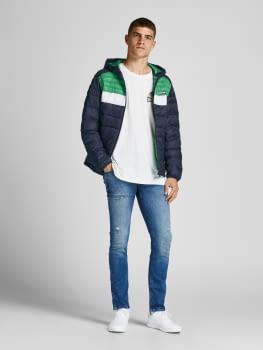 JACK & JONES chaqueta JJEACE PUFFER HOOD - 6