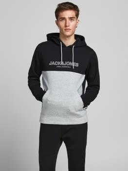 JACK & JONES sudadera JJEURBAN BLOCKING - 4