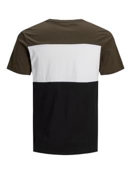 JACK & JONES camiseta manga corta JJELOGO BLOCKING - 4