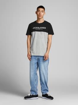 JACK & JONES camiseta manga corta JJEURBAN BLOCKING - 3