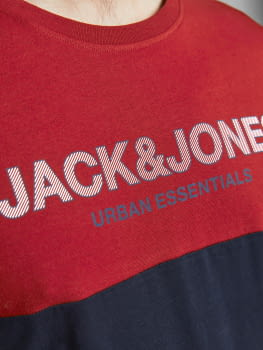 JACK & JONES camiseta manga corta JJEURBAN BLOCKING - 2