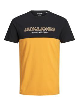 JACK & JONES camiseta manga corta JJEURBAN BLOCKING
