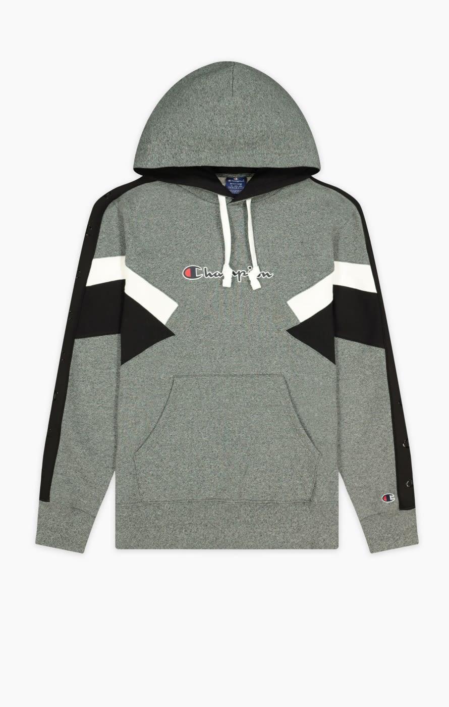 Hooded sweatshirt gris