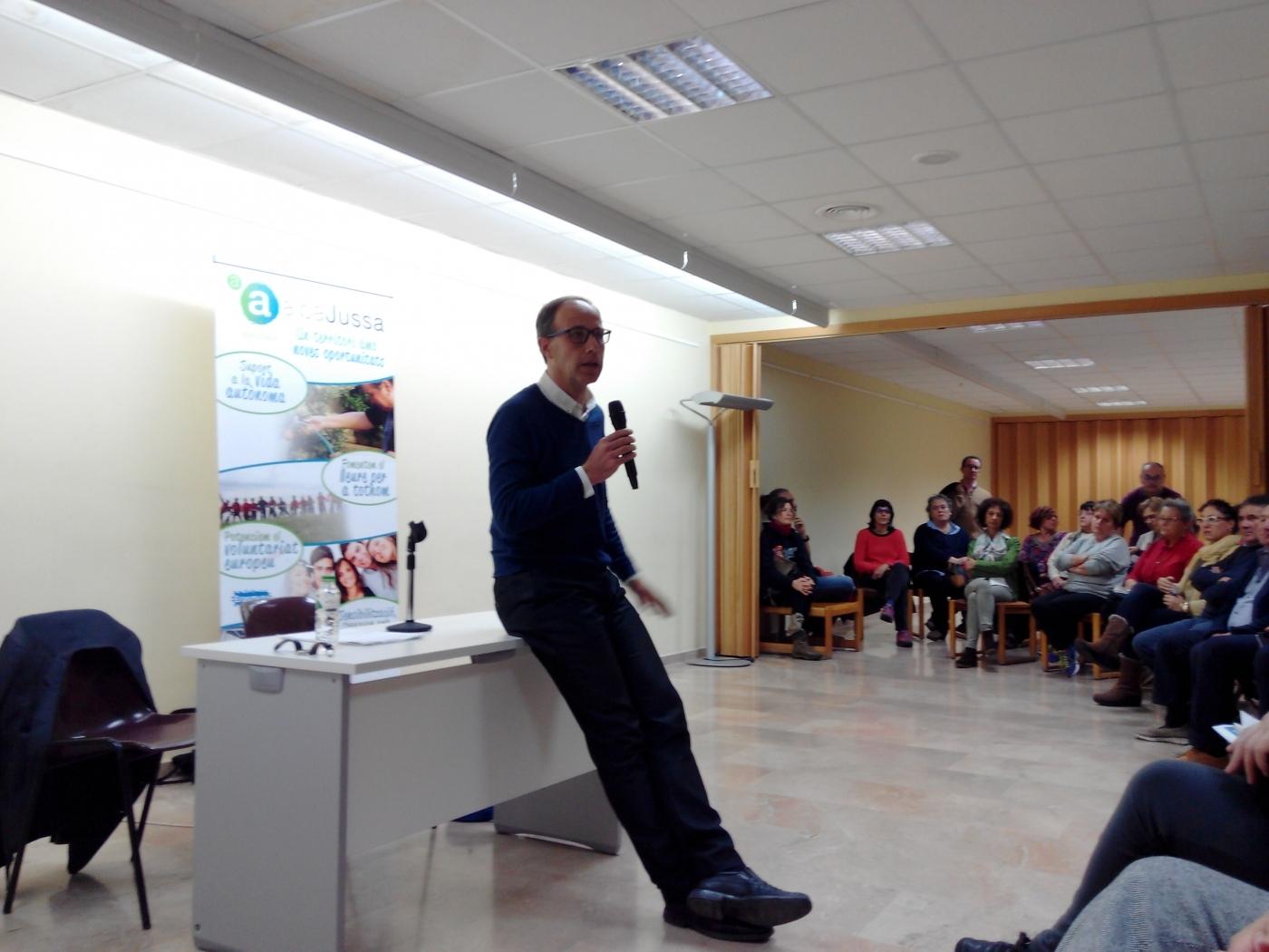 Xerrada de Francesc Torralba a Tremp per parlar dels valors per una vida plena
