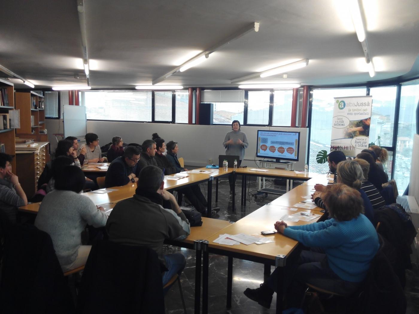 """Presentem el projecte """"Activa't per la Salut Mental"""" al Pallars Jussà"""