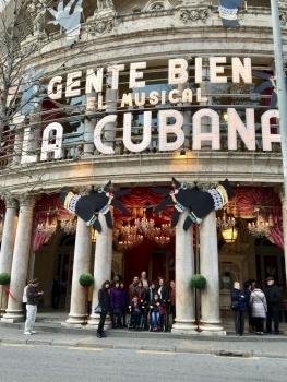 ESPECTACLE ''GENTE BIEN'' DE LA CUBANA A BARCELONA