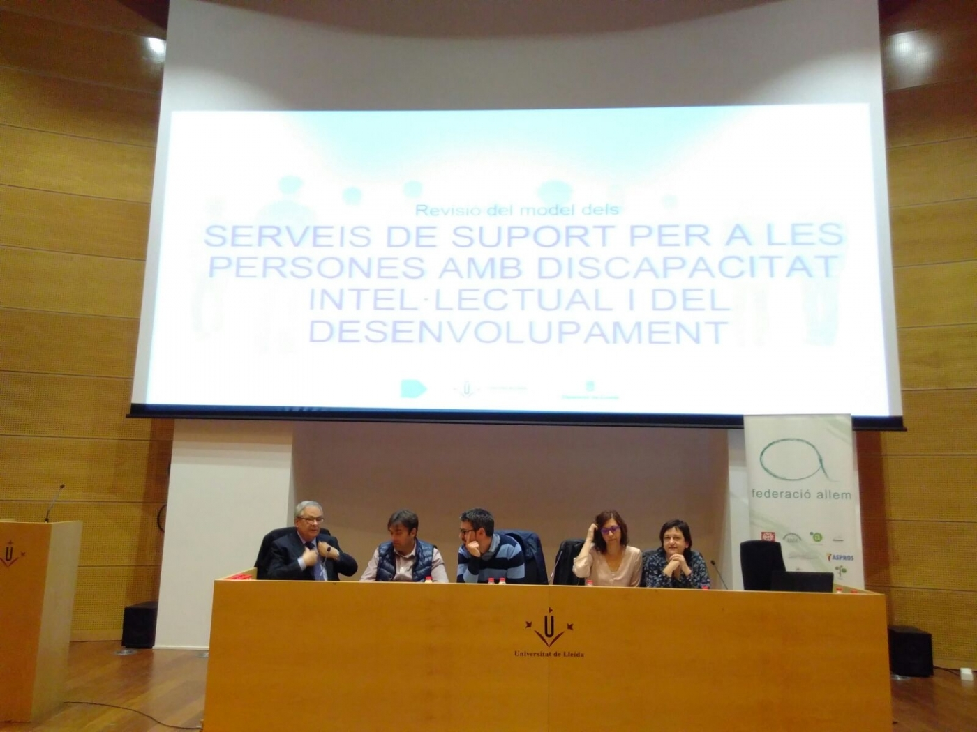 Es presenta un estudi de la UDL sobre el model de futur dels serveis de suport a persones amb discapacitat
