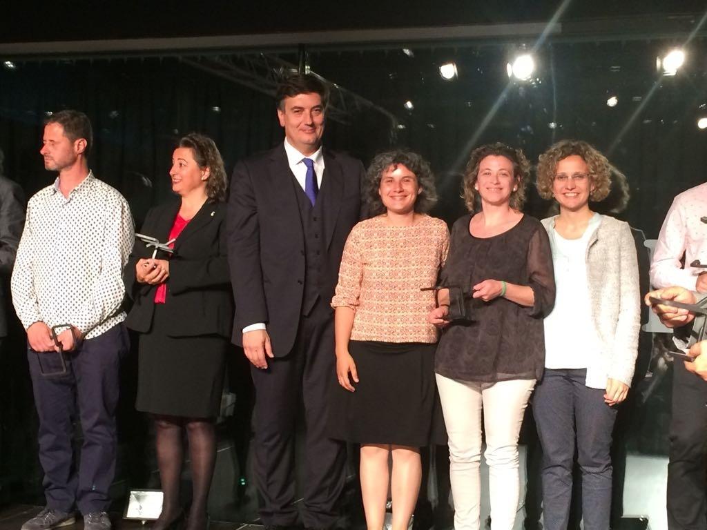 La Escuela Alba gana el premio a la Mejor iniciativa para la promoción de la Formación Profesional en la 1ª Noche de la FP en Lleida