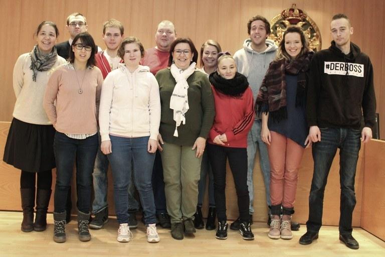 L'Associació Alba gestiona un programa europeu de joves alemanys amb discapacitat i risc d'exclusió que realitzen pràctiques laborals a empreses de Tàrrega.