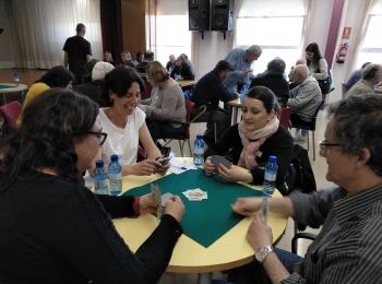 """Èxit de participació del IX Campionat de botifarra inclusiu """"Contro i recontro"""" organitzat per Alba Jussà i el Club de Botifarra d'Alguaire"""